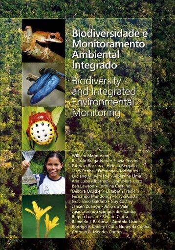 Biodiversidade e Monitoramento Ambiental Integrado - PPBio - Inpa
