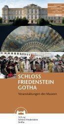 Veranstaltungsprogramm August bis Oktober 2013 - Schloss ...
