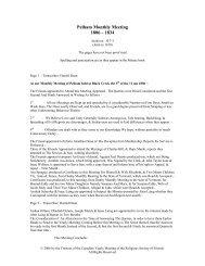 Pelham Monthly Meeting Minute Book, 1806-1834 - The Quaker ...