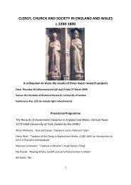 Conference programme (PDF , 171kb) - University of York