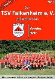 Danke Norbert! - beim TSV-Falkenheim