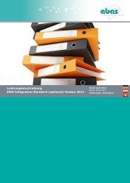 Leistungsbeschreibung DMS-Integration-Standard (optional ...