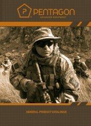 GENERAL PRODUCT CATALOGUE - Pentagon Outdoor