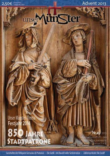 850 Jahre Stadtpatrone - Unser Münster