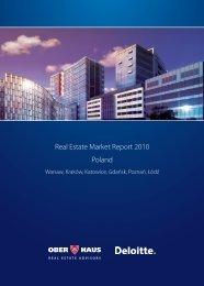 Real Estate Market Report 2010 Poland - Ober Haus