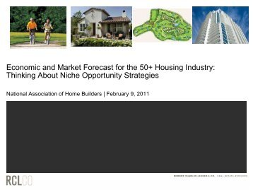 Economic and Market Forecast for the 50+ Housing Industry ...