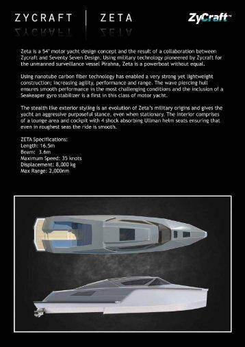 Download SuperYacht Brochure - Zycraft