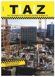 Taximagazin April 2013 - Taxi-Auto-Zentrale Stuttgart