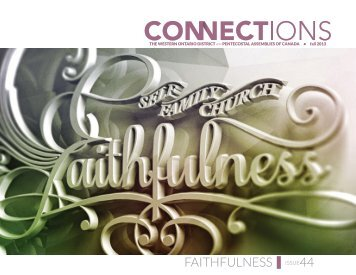 FAITHFULNESS|ISSUE44 - Western Ontario District of PAOC