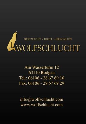 Informationsmappe herunterladen - Wolfschlucht