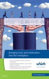 Bringing trust and motivation into the workplace