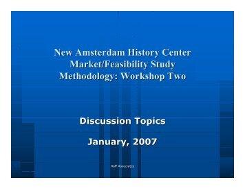 Methodology - Virtual New Amsterdam