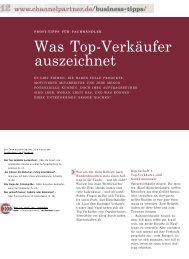 Was Top-Verkäufer auszeichnet - Voss+Partner GmbH