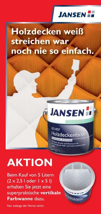 Aktion: Jansen - Engel & Jung