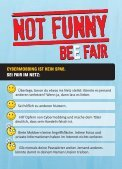 NOT FUNNY - BEE FAIR - cybermobbing - BEE SECURE - Seite 3