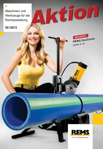 REMS-Aktion - Weecon-Pipesystems