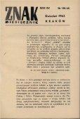 Nr 106, kwiecień 1963 - Znak - Page 3