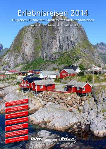 Gesamtkatalog 2014 - Blitz-Reisen HomePage