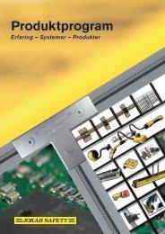 Produktprogram (pdf) - Jokab Safety