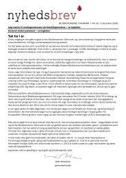 Nyhedsbrev nr. 92, december 2009 - Bloddonorerne i Danmark