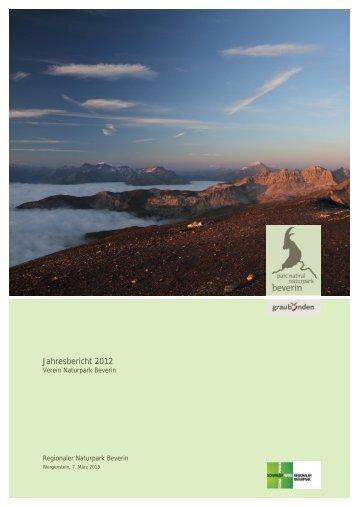 Jahresbericht 2012 - Naturpark Beverin