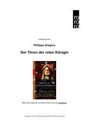 Der Thron der roten Königin - Rowohlt Theaterverlag