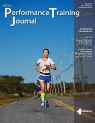 NSCA's Performance Training Journal - Queensland Baseball ...