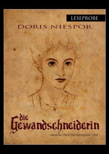 """geht es zur Leseprobe von """"Die Gewandschneiderin""""! - Doris Niespor"""