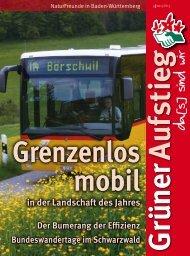Grüner Aufstig 2013-3 (PDF) - Naturfreundehaus Feldberg