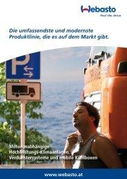 Produktbroschüre Ecodirna Minicool (PDF, 1.6 MB) - Webasto