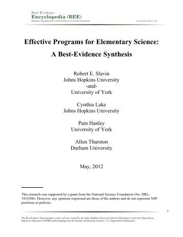 """""""Best evidence synthesis"""" as a better alternative to meta-analysis"""
