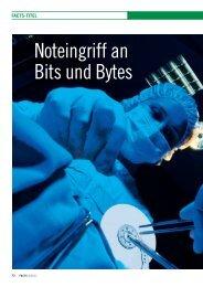Noteingriff an Bits und Bytes - FACTS Verlag GmbH