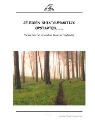 Je eigen shiatsu praktijk starten.pdf 886.94 Kb - Shiatsu opleiding bij ...