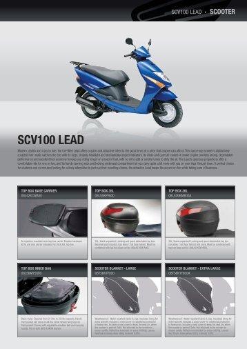 SCV100 LEad - Honda Motorcycles