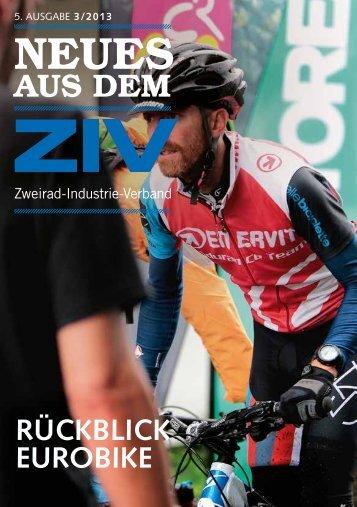 """""""Neues aus dem ZIV"""" – 3. Ausgabe 2013"""
