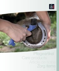 Pflegeartikel Zorg items Article de soins Care products - Piccini Horses