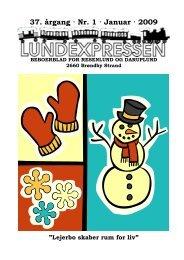 37. årgang · Nr. 1 · Januar · 2009 - lundens.net