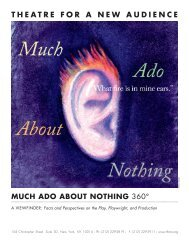 Much Ado About Nothing 360⁰ - Theatre for a New Audience