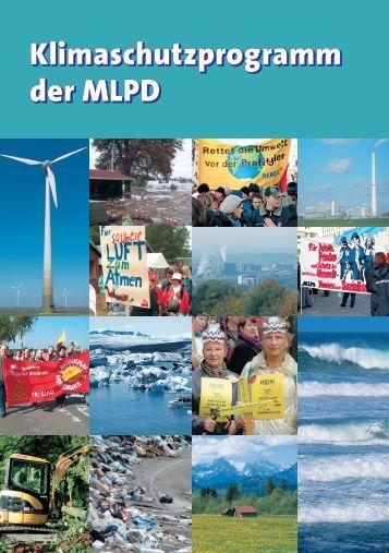 Klimaschutzprogramm der MLPD - icor
