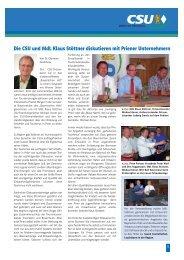 Prien aktuell August 2013 Teil 2 - CSU