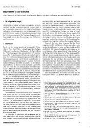 Jürgen Wagner, Steuerrecht in der Schweiz, steueranwaltsmagazin ...