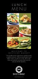 Westside Market Lunch Menu (pdf)