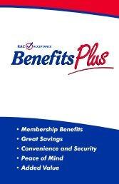 membership guide - Racabp.com