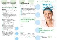 Krebsfrüherkennung für Frauen - Ärztekammer Niedersachsen