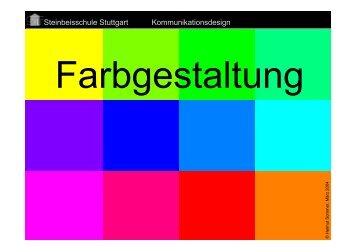 Farbgestaltung - Gattner