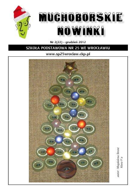 Muchoborskie Nowinki Szkoła Podstawowa Nr 25 We Wrocławiu