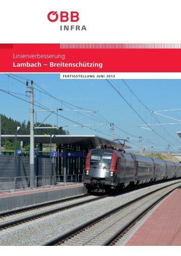 Publikation zur Linienverbesserung Lambach - Breitenschützing ...
