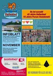 INFOBLATT - Forum Sumiswald