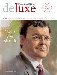 Mann der Stunde - wirtschaftsblatt.at