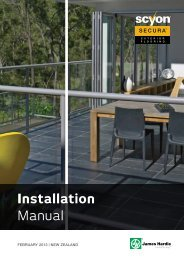 Installation Manual - James Hardie